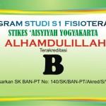 Program Studi Fisioterapi Meraih Akreditasi B
